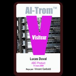 Altrom-visitorbadge