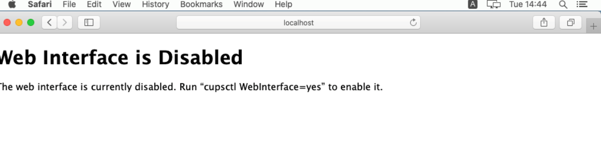 Badgy Interface web erreur