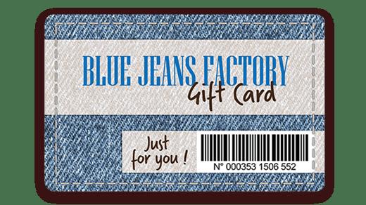 Carte cadeau avec code barre imprimé avec l'imprimante Badgy